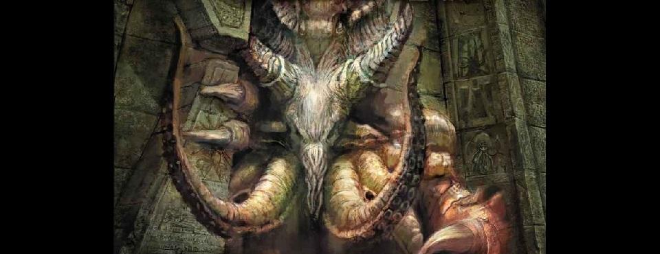Monster in Ruine